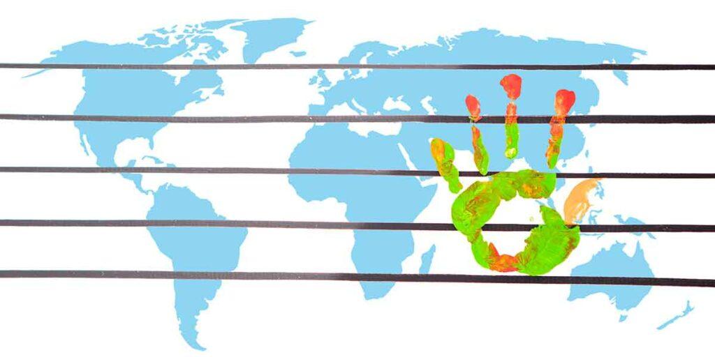 Una revolución global (alianzas internacionales)